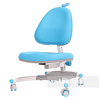 Ортопедическое кресло для ребенка от 7 до 18+ лет Ottimo ТМ FunDesk Голубой 221783, фото 1