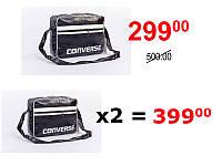 Стильная молодежная сумка через плечо Converse White