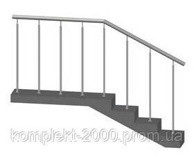 ограды из нержавеющей стали для лестницы