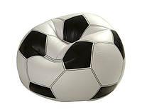 Надувное кресло Футбольный мяч Intex  108х110х66 см. (68557)