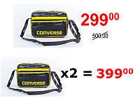 Молодежная спортивная сумка на плечо Converse Yellow, фото 1
