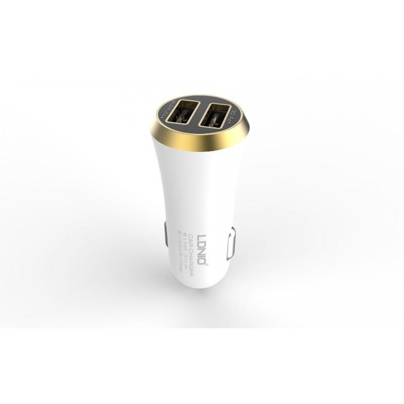 Автомобильная зарядка Ldnio DL-C27 (2USB, 3.4A)