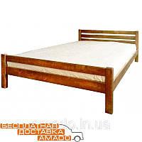 Кровать Элегант 1600*2000 (орех светлый) Domini, фото 1