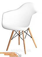 Кресло Прайз (ПЛ белый) (ольха) Domini, фото 1
