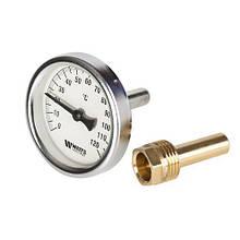 Термометр биметаллический Watts F+R801 OR