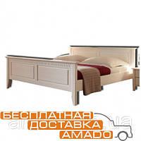 Кровать Боцен 1800*2000 (белый воск) Д8159 Domini