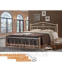 Кровать Миранда 1600*2000 М (крем) Domini