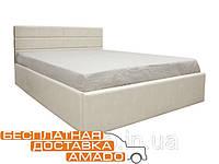 Кровать с п/м 1,6 Джустина (беж-карамельный) Domini