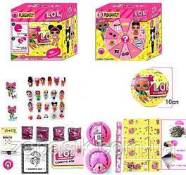 Коллекционная Игрушка Кукла Мини LOL S8 Surprise Сюрприз в Шарике Куколка Сестричка ЛОЛ для Девочек с Крылышка