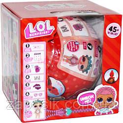 Коллекционная Игрушка Кукла Мини LOL Surprise Сюрприз в Шарике Куколка Сестричка ЛОЛ для Девочек Светящаяся