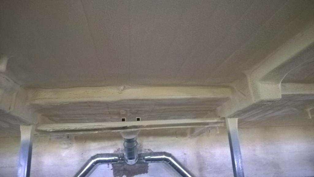 июль 2018 изоляция потолка птицекомплекса