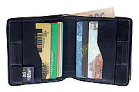 Портмоне Lettera с монетницей, синий, фото 1