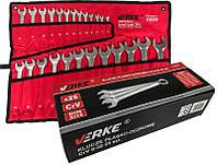 Ключи рожково-накидные набор 25 шт (6-28,30,32) VERKE