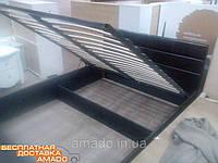 Кровать с п/м 1,6 Джустина (браун) Domini