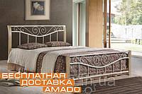 Кровать Ленора 1600*2000 М (крем) Domini, фото 1