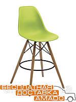 Стул барный Прайз (ПЛ зеленый) (ольха) Domini, фото 1