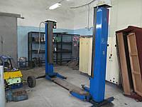 Двухстоечный подъемник для СТО, Zavagli Santi (Италия) 2700 кг. 2002 г., б/у