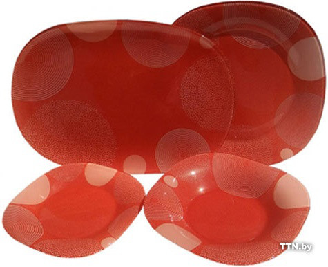 Столовый сервиз Luminarc Constellation Red G8265 19 предметов