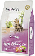 Сухой корм для котят Профайн Киттен (Profine Kitten Chicken and Rice), курица и рис 10 кг