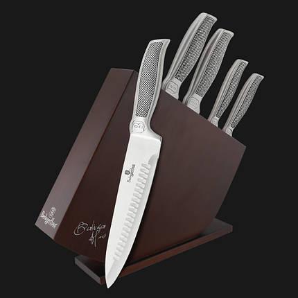 Набор ножей на деревянной подставке Berlinger Haus Kikoza Collection 6 предметов BH-2249, фото 2