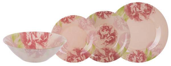 Столовый сервиз Luminarc Pastel Pink 19 предметов N6263, фото 2