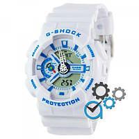 Casio G-Shock GA-110 White-Blue