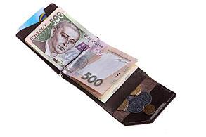 Зажим для денег Soldi, глянец, шоколад
