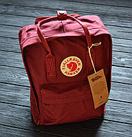 Рюкзак в стиле Fjallraven Kanken classic бордовый, фото 1