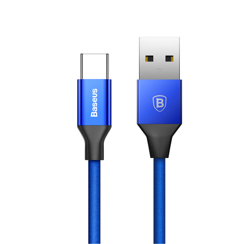 USB кабель Baseus Yiven 3A Type-C to USB, 1.2m blue