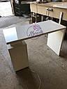 Маникюрный стол под стеклом и с тройной розеткой, фото 8