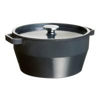 Кастрюля PYREX Slow Cook grey чугун  6.3л  (SC4AC28)