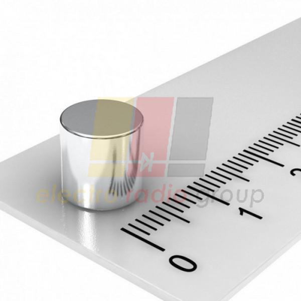 Магнит неодимовый шайба диск цилиндр NdFeB 9x8mm