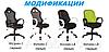 Кресло Матрикс-2 Черный, сиденье Сетка черная/спинка Сетка черная (AMF-ТМ), фото 6