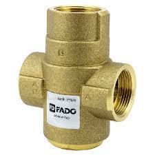"""Трехходовой антиконденсатный клапан 1 1/2"""" 55 °С Fado"""