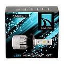 Лампа светодиодная NAPO Model S  H3  8000 Lum, цвет свечения белый, 2 шт/комплект, фото 2