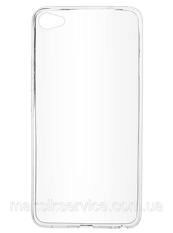 Накладка Чехол на Meizu U20 прозрачный