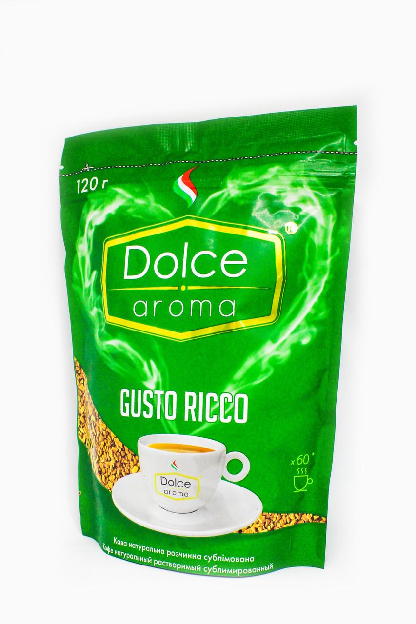 Растворимый кофе Dolce Aroma Gusto Ricco 120 г