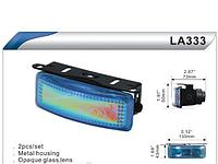 Фары доп. DLAA  333 BL/H3-12V-55W/130*43mm
