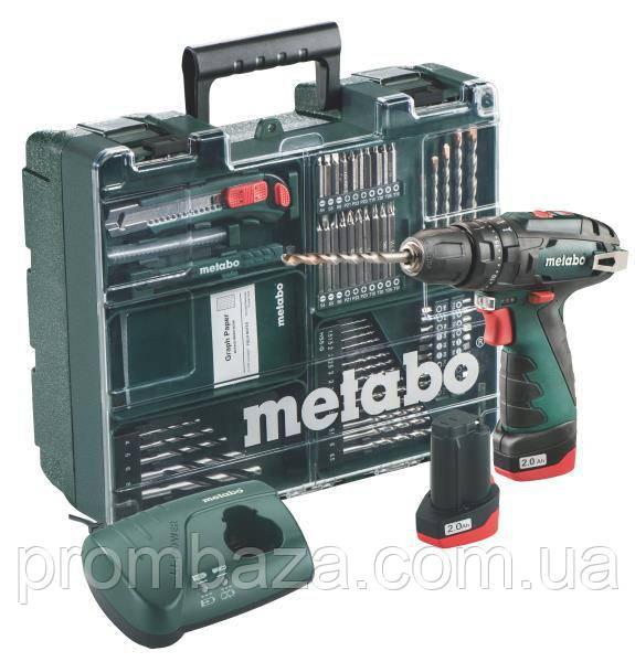 Акумуляторний ударний шуруповерт Metabo PowerMaxx SB Basic Set