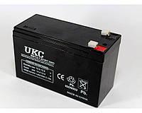 Аккумулятор BATTERY 12V 7A UKC, Свинцово-кислотная AGM батарея, Аккумулятор 12 вольт