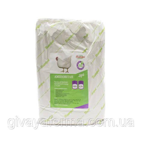 Премикс Аминовитан БР-2 бройлер с 21 дня 0,5%, 1 кг, витаминно - минеральная добавка, фото 2