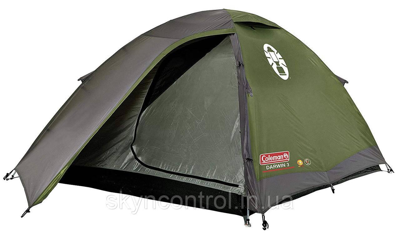 Палатка Coleman Darwin 3 Система WeatherTec