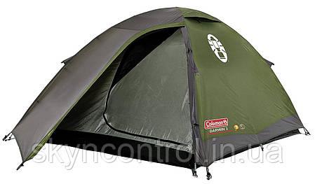 Палатка Coleman Darwin 3 Система WeatherTec, фото 2