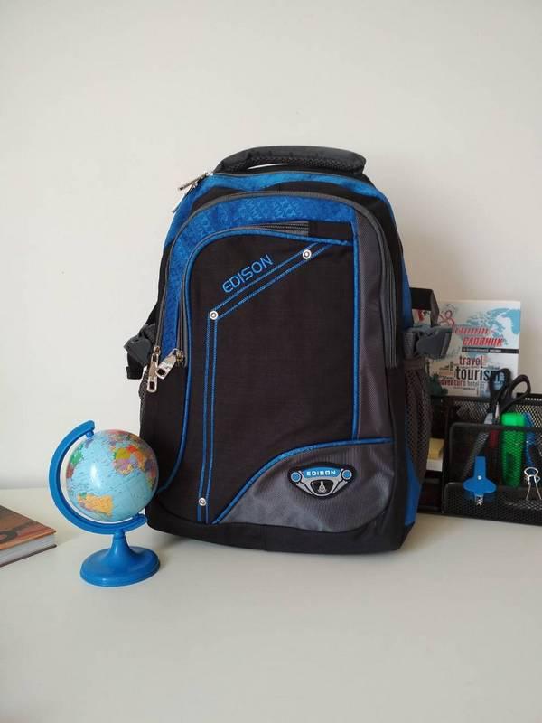 c92c8df0f940 Школьный рюкзак для мальчика подростка Edison 40*30*17 см - Цена 345 ...