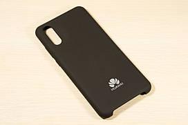 Оригинальный силиконовый чехол для Huawei P20 Silicone Cover (Черный)