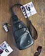 """Мужской рюкзак """"Max"""" 09 - черный, фото 2"""