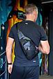 """Мужской рюкзак """"Max"""" 09 - черный, фото 5"""