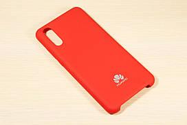 Оригинальный силиконовый чехол для Huawei P20 Silicone Cover (Красный)