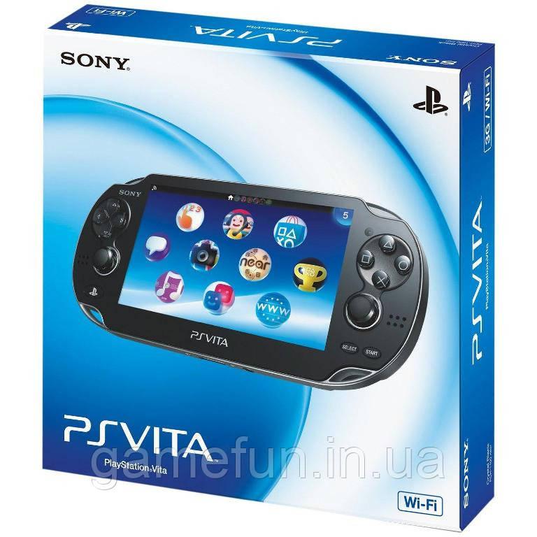 Портативна ігрова приставка Sony PlayStation Vita Wi-Fi/3G