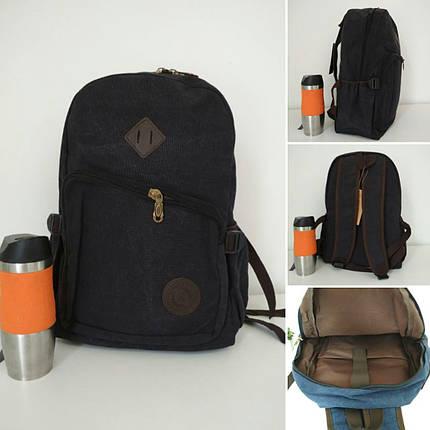 Повседневный рюкзак для школы с наружным карманом на молнии 43*30*19 см, фото 2